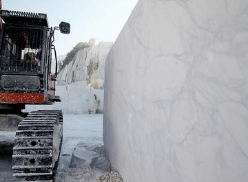 Carrara, Cava di statuario Calocara